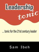 Leadership Tonic