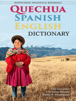 Quechua-Spanish-English Dictionary: A Hippocrene Trilingual Reference