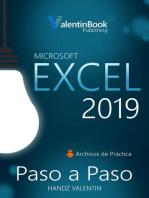 Excel 2019 Paso a Paso
