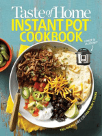 Taste of Home Instant Pot Cookbook: Savor 175 Must-have Recipes Made Easy in the Instant Pot