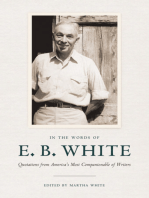 Essays of E. B. White by E. B. White by E. B. White - Read Online