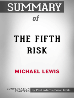 Summary of The Fifth Risk