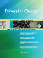 Drivers for Change A Clear and Concise Reference