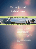 Verification and Authentication A Clear and Concise Reference