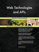 Web Technologies and APIs Standard Requirements