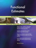 Functional Estimates Standard Requirements