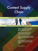 Content Supply Chain Complete Self-Assessment Guide