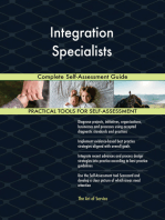 Integration Specialists Complete Self-Assessment Guide