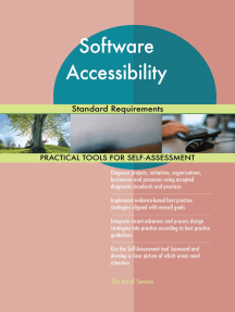 Software Accessibility Standard Requirements