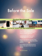 Before the Sale Standard Requirements