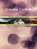 Potential Conflicts Complete Self-Assessment Guide