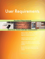 User Requirements Standard Requirements
