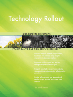 Technology Rollout Standard Requirements