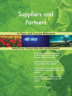 Suppliers and Partners A Clear and Concise Reference