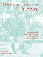 The Italian Traditions & Puccini: Compositional Theory & Practice in Nineteenth-Century Opera