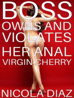 Boss Owns And Violates Her Anal Virgin Cherry