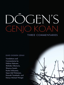 Dogen's Genjo Koan: Three Commentaries