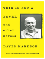 This Is Not a Novel: And Other Novels
