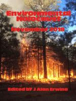 Environmental Holocaust November 2018