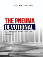 The Pneuma Devotional, A 62-Day Study on the Epistle to the Romans Volume 1