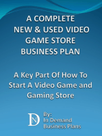 A Complete New & Used Video Game Store Business Plan
