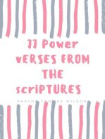 77 Power Verses From The Scriptures