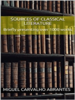 Sources of Classical Literature