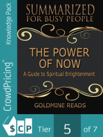 The Power of Now - Summarized for Busy People