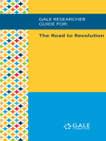 Gale Researcher Guide for: The Road to Revolution