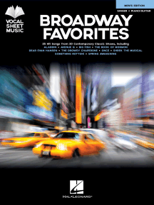 Broadway Favorites - Men's Edition: Singer + Piano/Guitar