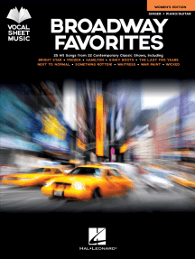 Broadway Favorites - Women's Edition: Singer + Piano/Guitar