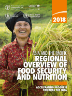 Asia and the Pacific Regional Overview of Food Security and Nutrition 2018
