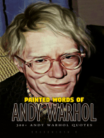 Painted Words of Andy Warhol