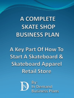 A Complete Skate Shop Business Plan