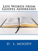 Life Words from Gospel Addresses