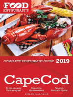 Cape Cod - 2019 - The Food Enthusiast's Complete Restaurant Guide