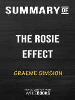 Summary of The Rosie Effect by Graeme Simsion | Trivia/Quiz for Fans