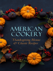 American Cookery: Thanksgiving Menus & Classic Recipes