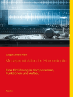 Musikproduktion im Homestudio