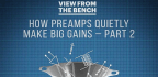 How Preamps Quietly Make Big Gains-part2