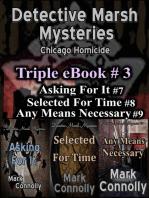 Detective Marsh Mysteries Triple eBook #3