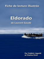 """Fiche de lecture illustrée - """"Eldorado"""", de Laurent Gaudé"""
