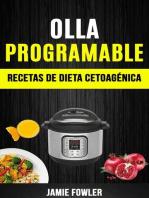 Olla programable: Recetas de Dieta Cetoagénica: Olla a presión