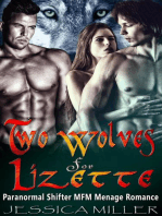 Two Wolves For Lizette (Paranormal Shifter MFM Menage Romance)