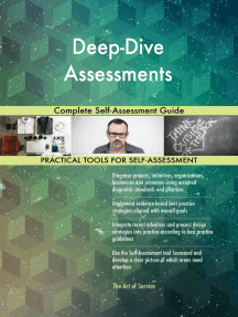 Deep-Dive Assessments Complete Self-Assessment Guide