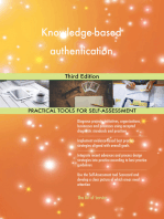 Knowledge-based authentication Third Edition