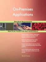 On-Premises Applications Standard Requirements