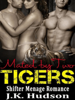 Mated By Two Tigers (Shifter Menage Romance)