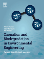 Ozonation and Biodegradation in Environmental Engineering: Dynamic Neural Network Approach