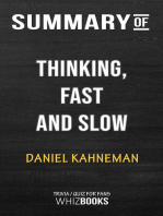 Summary of Thinking, Fast and Slow by Daniel Kahneman | Trivia/Quiz for Fans